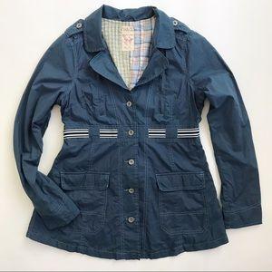 Free People Lightweight Patchwork Jacket 12